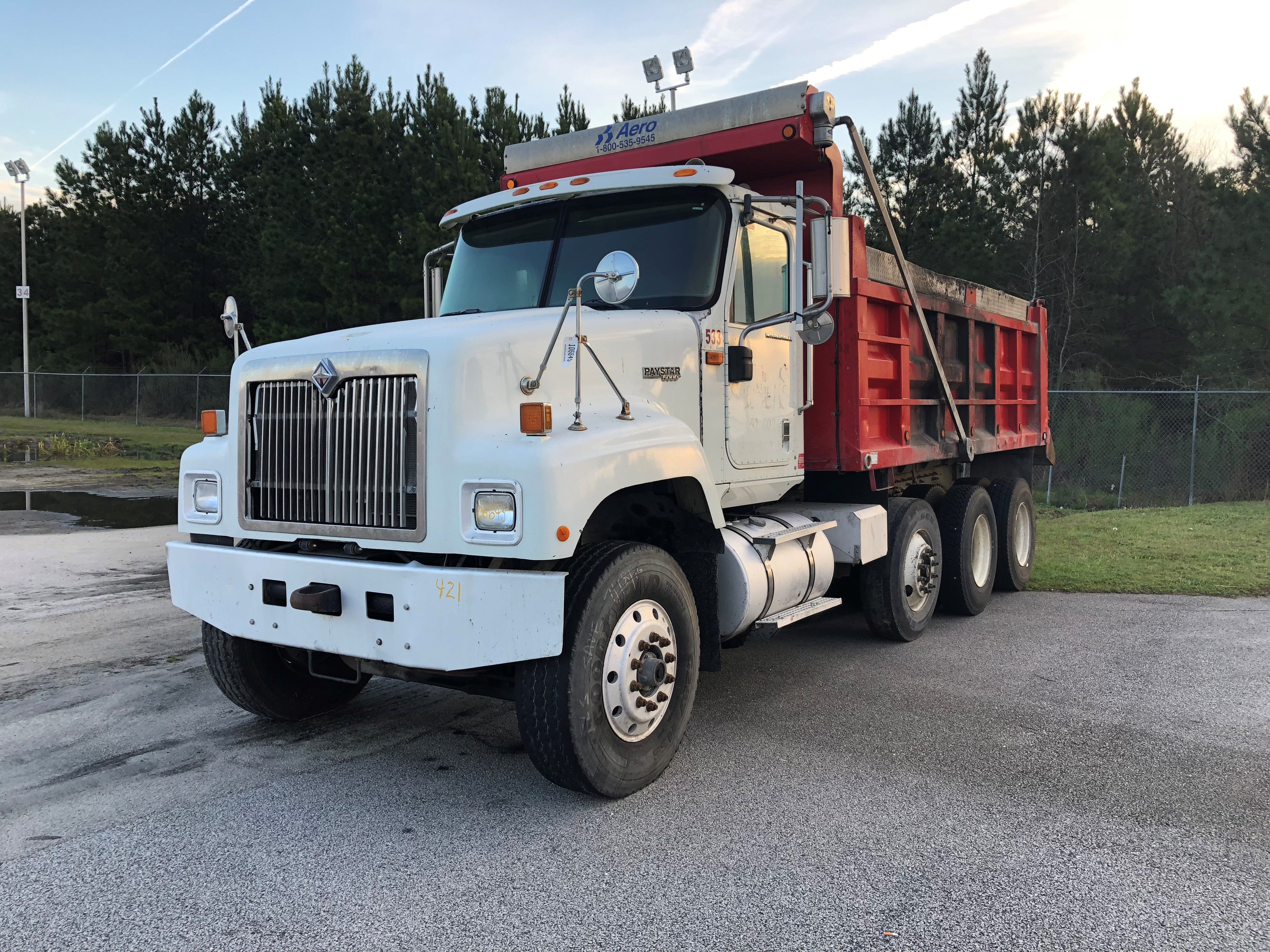 2007 INTERNATIONAL 5600I NONE
